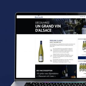 Landing page Offre Riesling